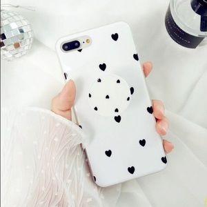 Accessories - iPhone 7 8 Plus Hearts Case